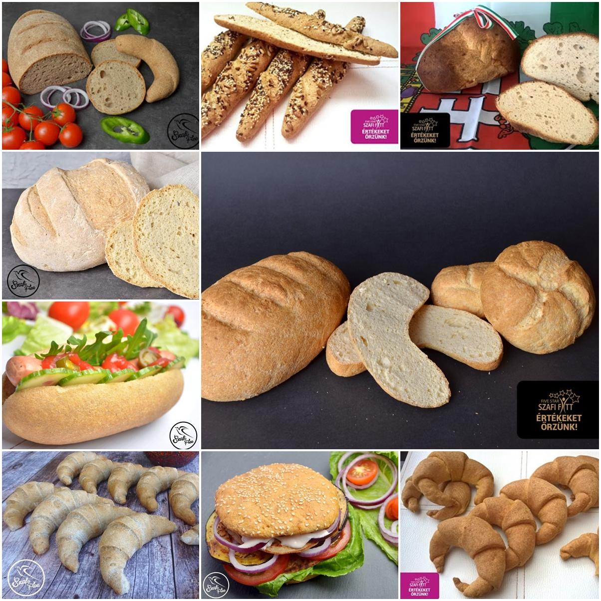 Top 10 gluténmentes, tejmentes, élesztőmentes kenyér recept