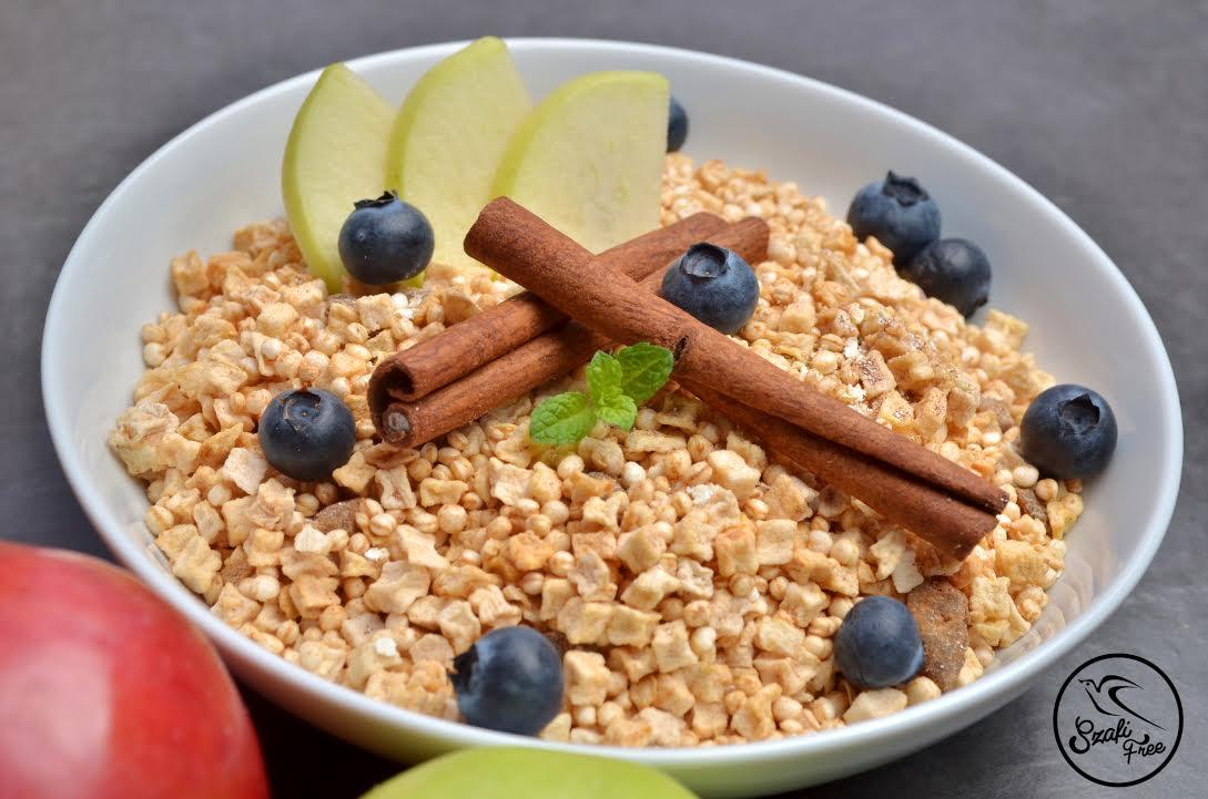 Szafi Free hozzáadott cukortól mentes, gluténmentes quinoa müzli