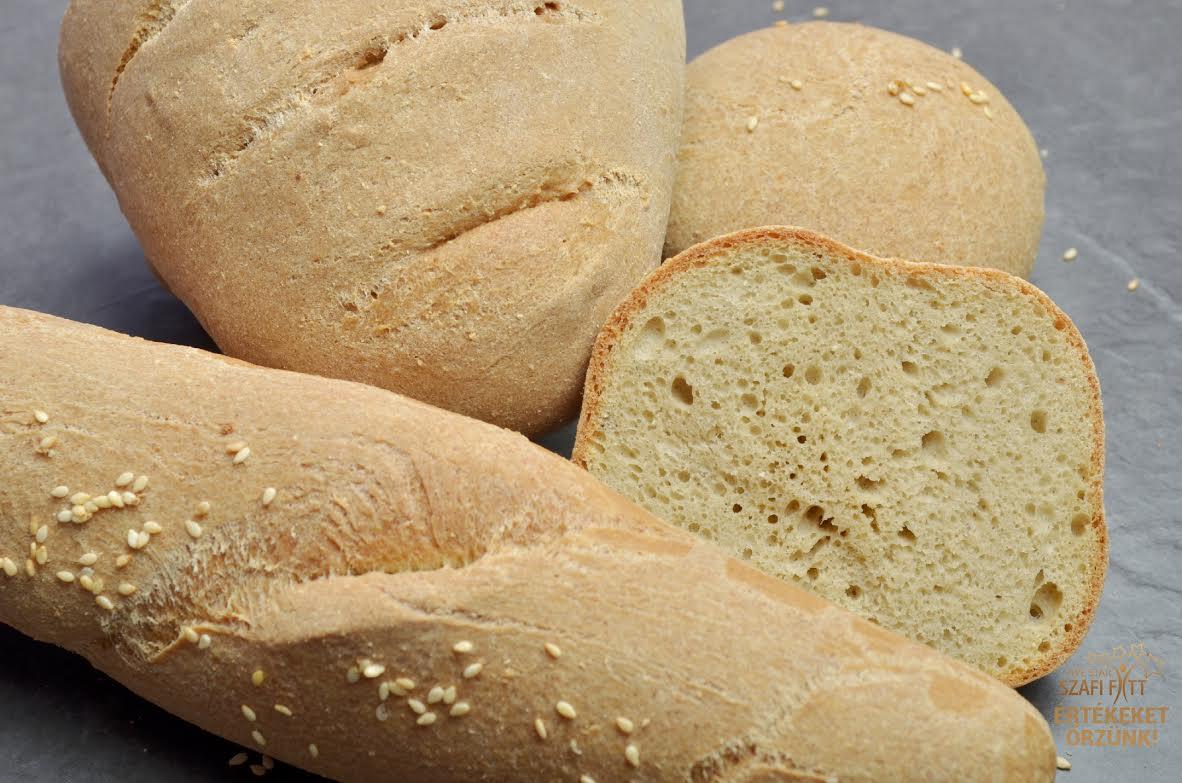 Szénhidrátcsökkentett, gluténmentes, paleo kenyér