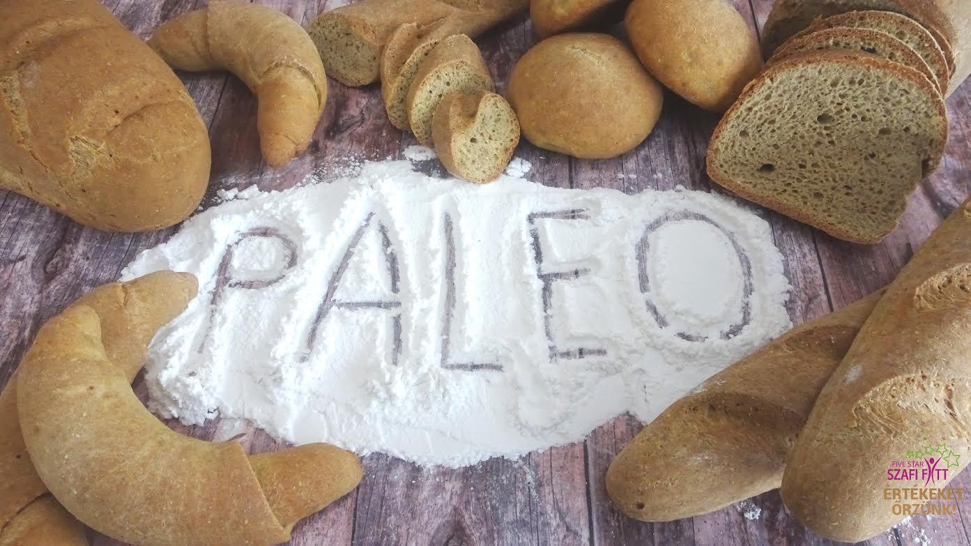 Szafi Fitt szénhidrátcsökkentet PALEO kenyér