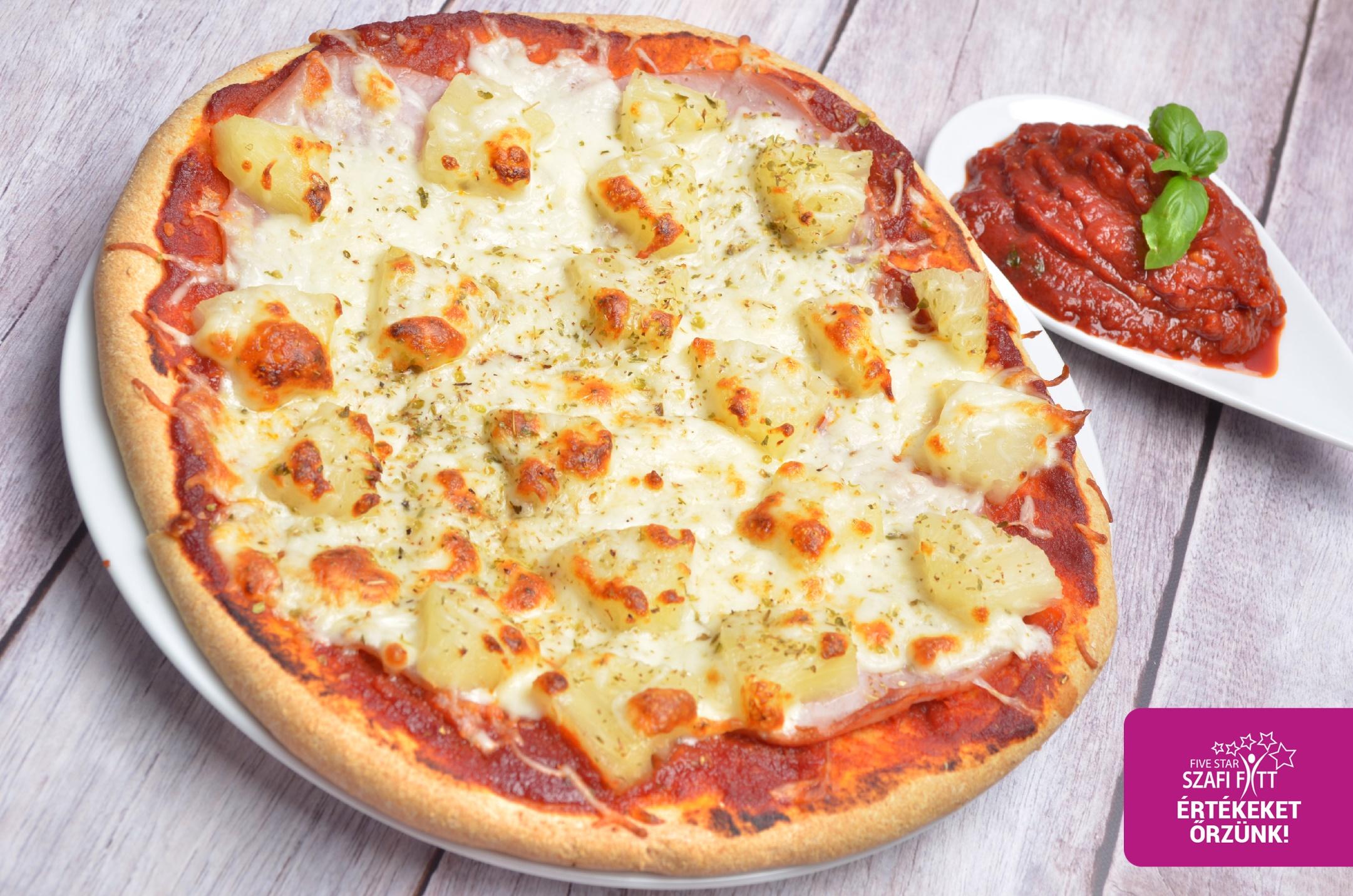 Mennyei finom paleo pizza élesztő nélkül
