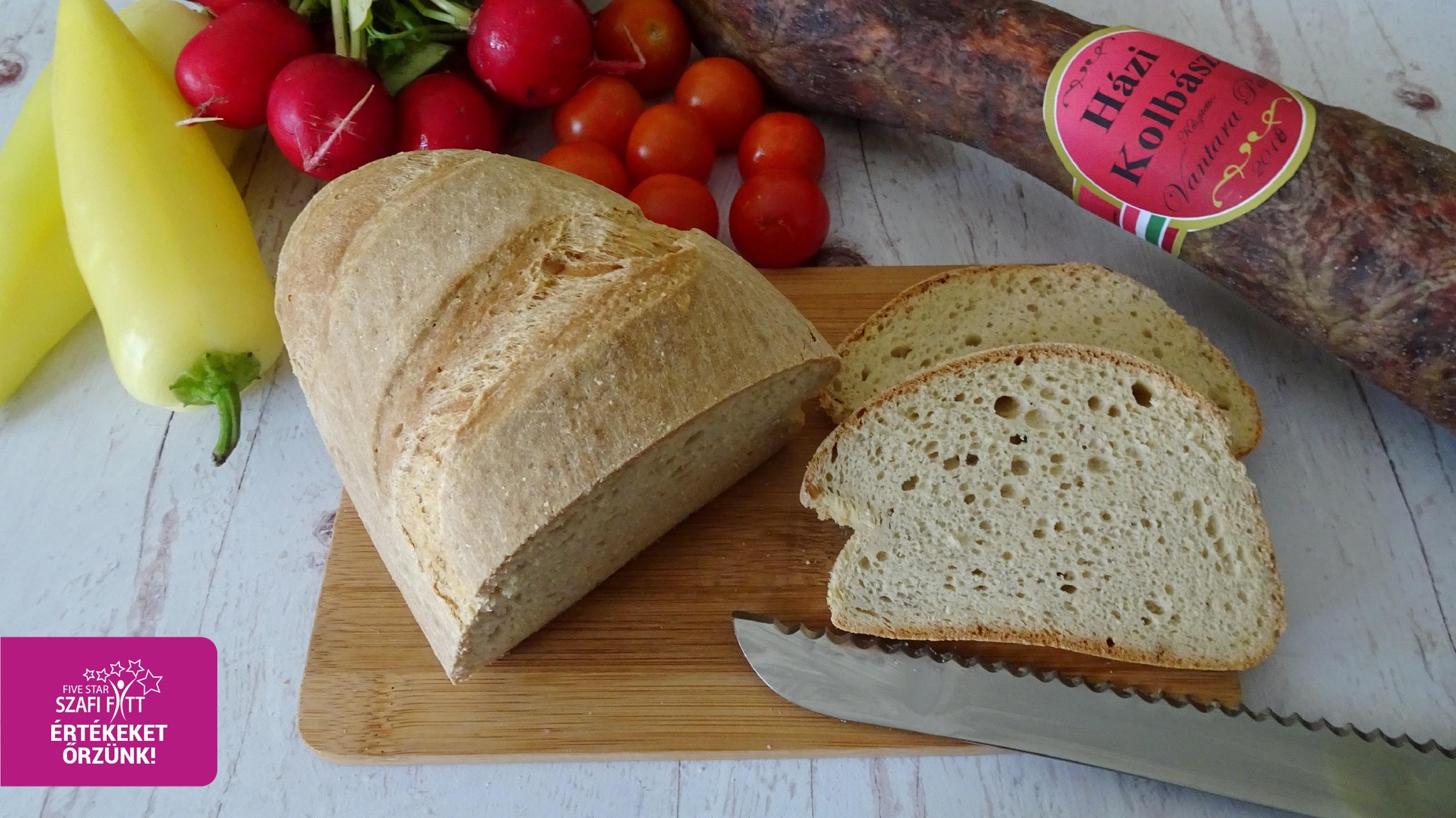 Paleo foszlós fehér kenyér