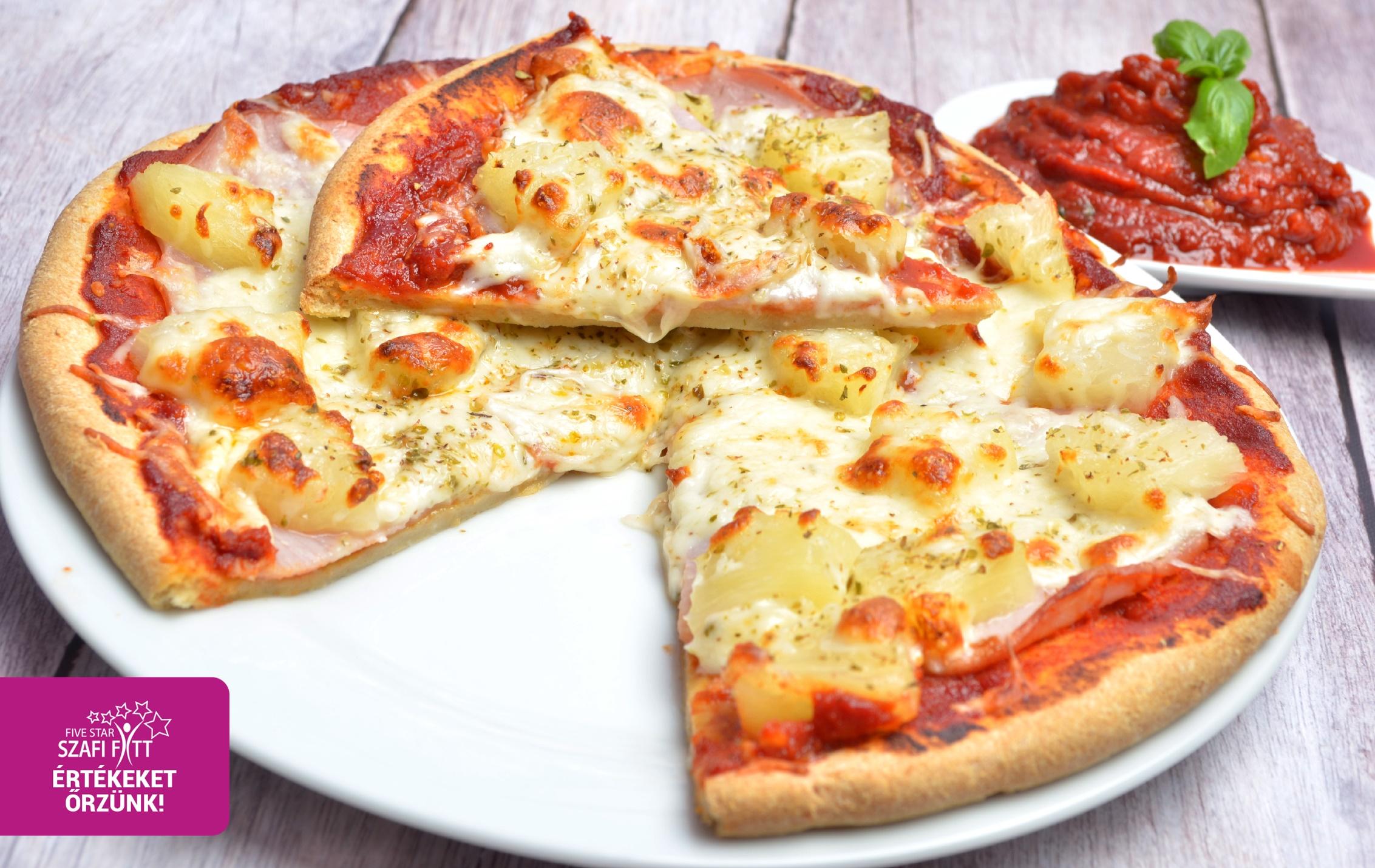 Szénhidrát-csökkentett gluténmentes paleo pizza