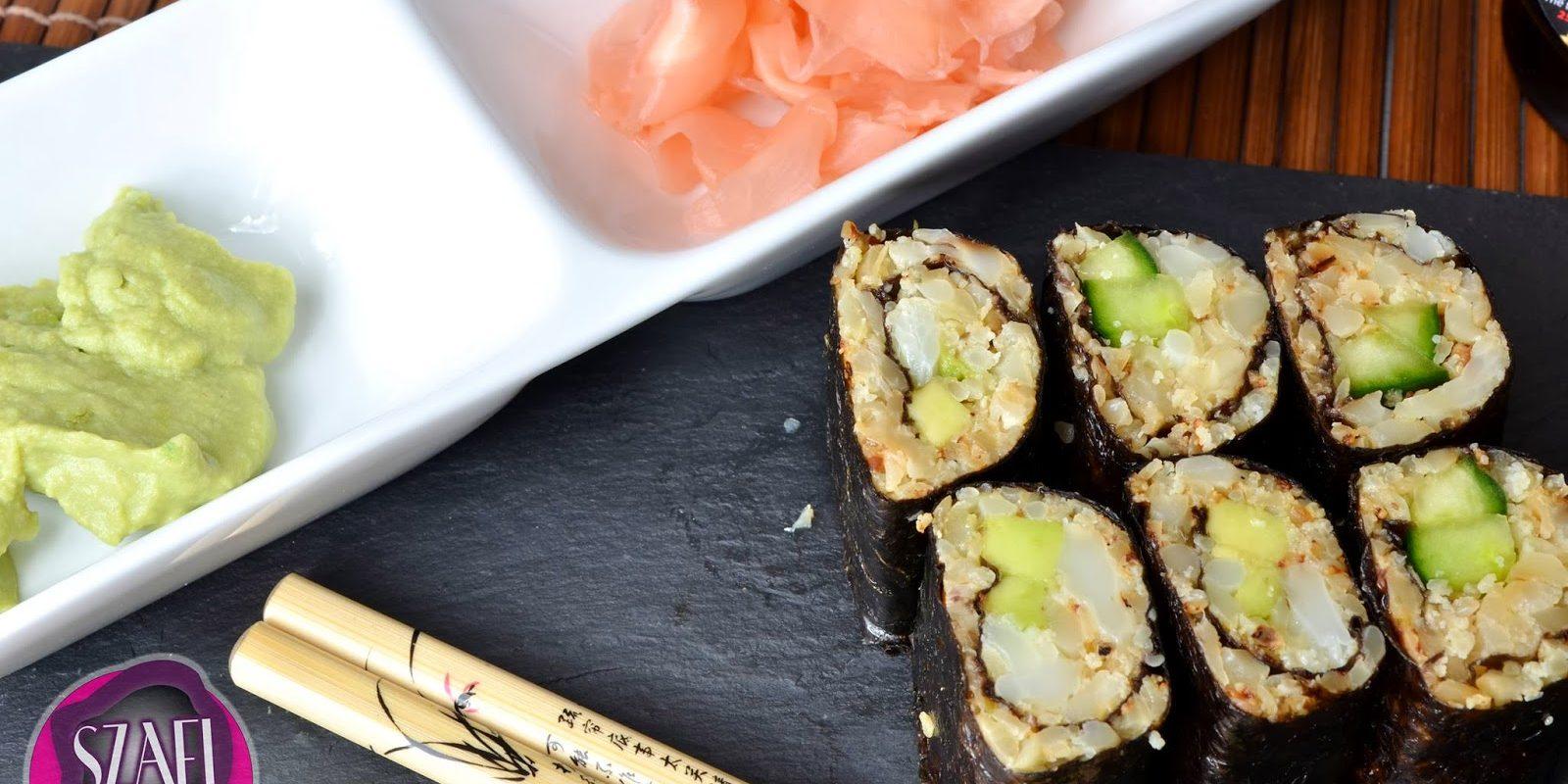 sushi tekercs a fogyáshoz)